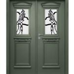 דלת מדהימה לכניסה לבית
